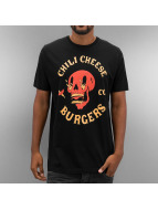 The Dudes T-Shirty Chili And Cheese czarny