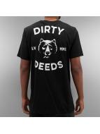 The Dudes T-Shirty Dirty Deeds czarny