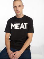 The Dudes T-Shirty Meat czarny