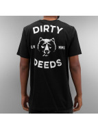 The Dudes Tričká Dirty Deeds èierna