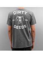 The Dudes Tričká Dirty Deeds šedá