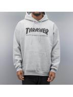 Thrasher Sweat à capuche Skate Mag gris