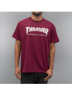 Thrasher T-Shirt Skate Mag rouge
