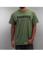Thrasher T-Shirts Skate Mag yeşil