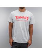 Thrasher T-skjorter Skate Mag grå