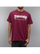 Thrasher Tričká Skate Mag èervená
