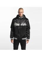 Thug Life Куртка-бомбардир New York черный