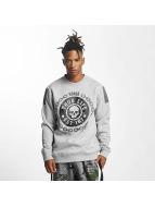 Thug Life Пуловер Barley серый