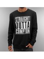 Thug Life Пуловер Straight Outta Compton черный