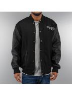Thug Life Университетская куртка Street Fighting черный