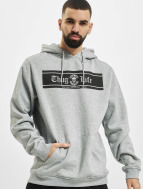 Thug Life Basic Felpa con cappuccio Life Box grigio