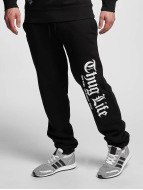 Thug Life Basic Jogginghose Cities schwarz