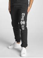 Thug Life Basic Pantalone ginnico Old English nero
