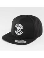 Thug Life Basic Snapback Cap Basic Skull schwarz