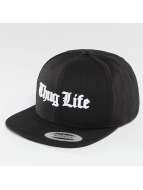 Thug Life Basic Snapback Cap Basic Old English schwarz