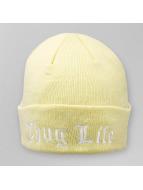 Thug Life Beanie NYLA Folded beige