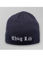 Thug Life Beanie Basic Sheet blau