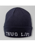 Thug Life Beanie Classic blau