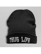 Thug Life Beanie Logo zwart