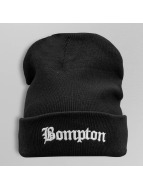 Thug Life Beanie Bomtpon zwart