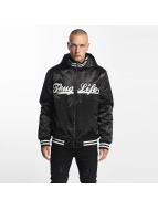 Thug Life New York Bomberjacket Black