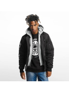 Thug Life 2 in 1 Bomberjacket Black