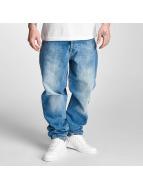 Thug Life Carrot Jeans Toljatti niebieski