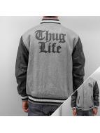 Thug Life College Jacke TL 187 grau