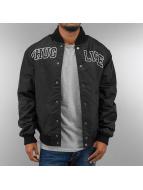 Thug Life College Jacke Basic schwarz