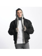 Thug Life Manchester Hooded Jacket Black/Grey