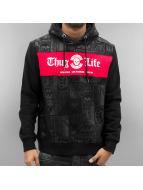 Thug Life Hoodies Broon čern