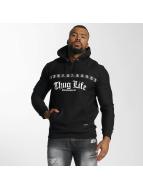 Thug Life Hoodies Burn čern
