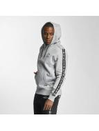 Thug Life Based Hoody Grey Melange