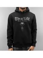 Thug Life Hoody Deadflower schwarz