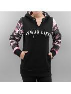 Thug Life Hupparit Skullpattern musta