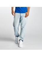 Thug Life Jean Coupe Droite Washed bleu
