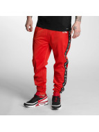 Thug Life Jogginghose Two Stripes rot