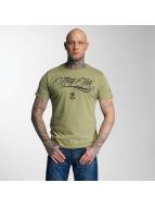 Kursiv T-Shirt Olive...