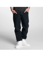Thug Life Loose fit jeans Carrot zwart