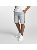 Thug Life Twostripes Shorts Grey