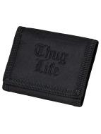 Thug Life Portemonnaie Logo schwarz