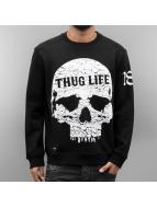 Thug Life Pullover Getosthug black