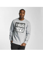 Thug Life Boxlife Sweatshirt Grey