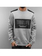 Thug Life Pullover Zoro Digga gray