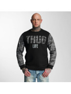 Thug Life Pullover Zombi gris