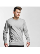 Thug Life Pullover Old Engish gris