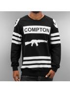 Thug Life Pullover Compton noir