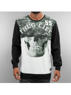 Thug Life Pullover Skull noir