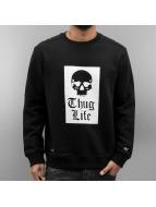 Thug Life Pullover Getosthug noir