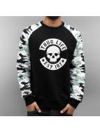 Thug Life Pullover Ragthug noir